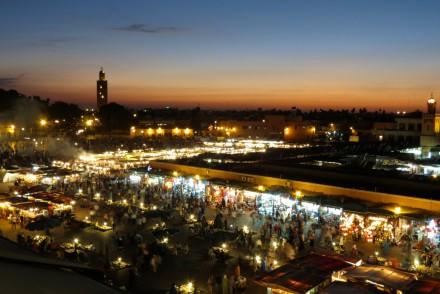 Marokko_Marrakesch_Djemaa_Moschee