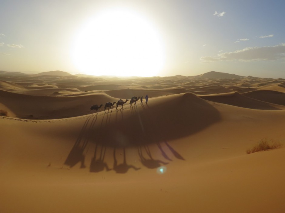 Marokko erleben Rundreise Wüste Sahara Reiseziele September