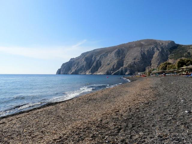 Geheimtipps Santorini Urlaub Kykladeninsel Strand