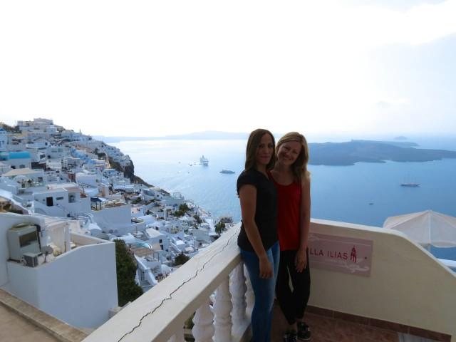 Geheimtipps Santorini Urlaub Kykladeninsel Firostefani