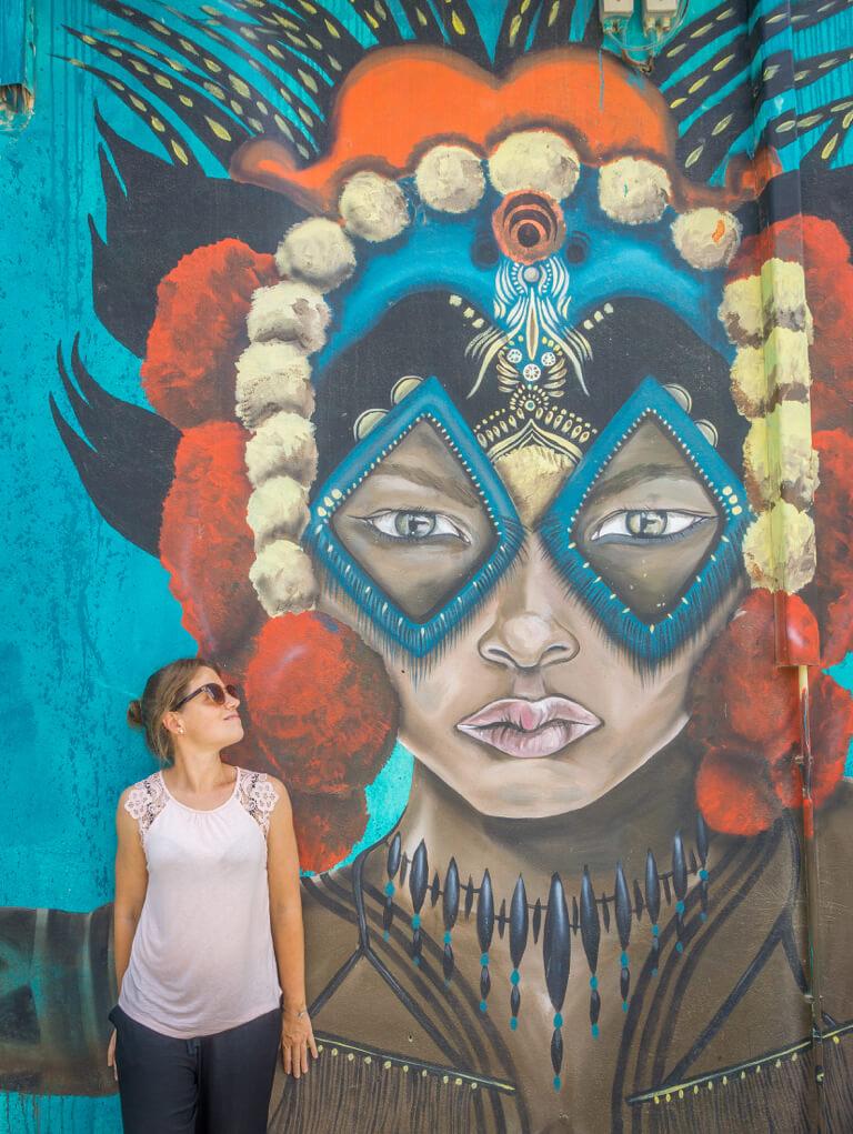 Die schoensten Straende der Welt Aruba Streetart