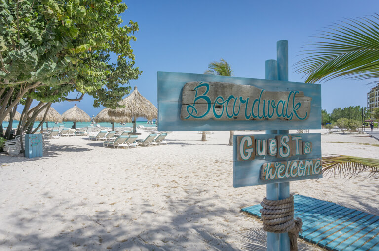 Die schoensten Straende der Welt Aruba