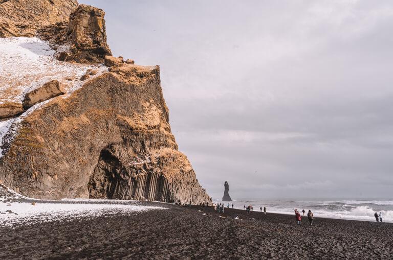 Die schoensten Straende der Welt Island Vik