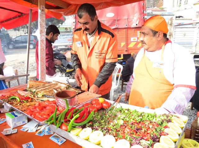Essen und Trinken in Istanbul