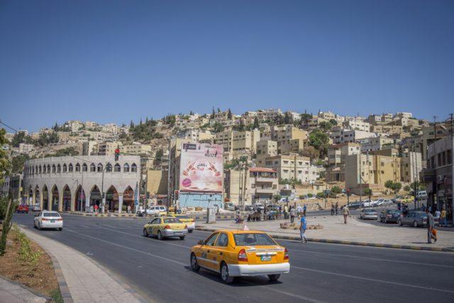 Jordanien Rundreise Urlaub Amman Taxi