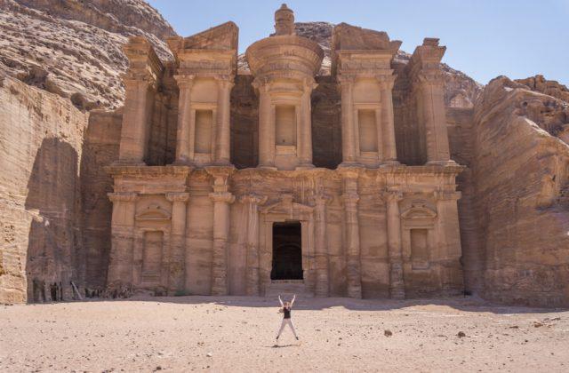 Jordanien Rundreise Urlaub Felsenstadt Petra Kloster Ad Deir