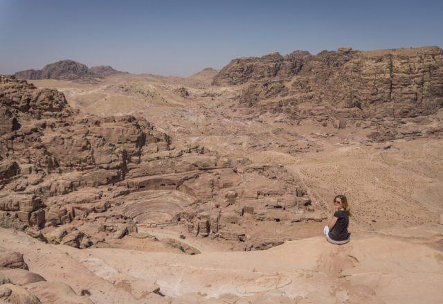 Jordanien Rundreise Urlaub Felsenstadt Petra Theater