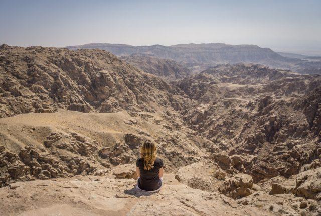 Jordanien Rundreise Urlaub Schlucht