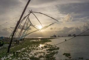 Kerala Backwaters Indien Kochin