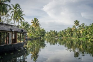 Kerala Backwaters Indien Hausboot