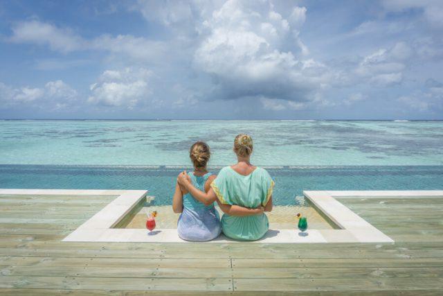 Mit Freunden reisen Malediven