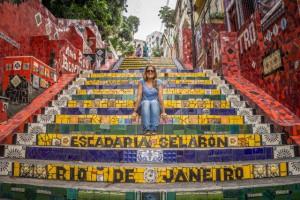 Sehenswuerdigkeiten Rio de Janeiro Selaron Treppe