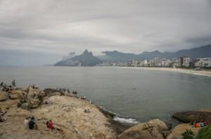 Sehenswuerdigkeiten Rio de Janeiro Ipanema Sunset