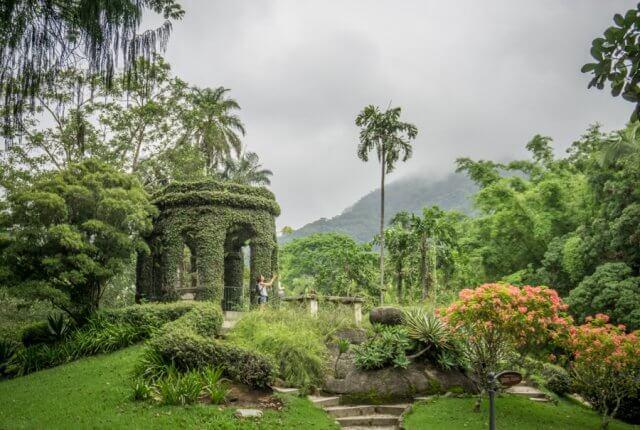 Sehenswuerdigkeiten Rio de Janeiro Botanischer Garten