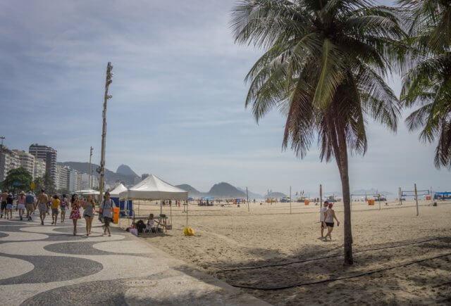 Sehenswuerdigkeiten Rio de Janeiro Copacabana