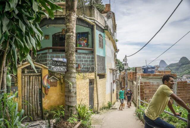 Sehenswuerdigkeiten Rio de Janeiro Favela