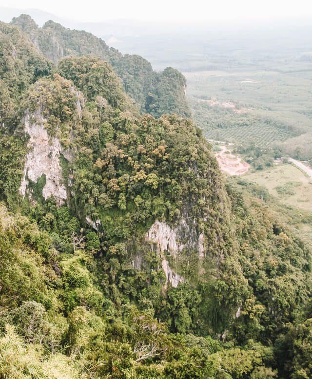 Aussicht Krabi Tigertempel