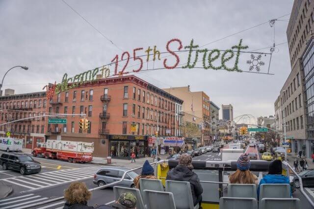 New York Hop on Hop off Bus Harlem