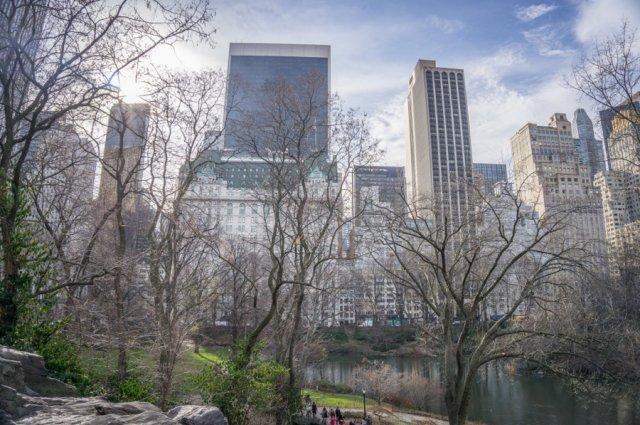 New York Manhattan Central Park Plaza Hotel