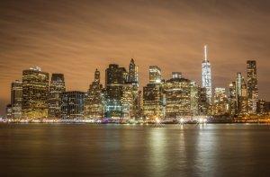 New York Brooklyn Manhattan Skyline