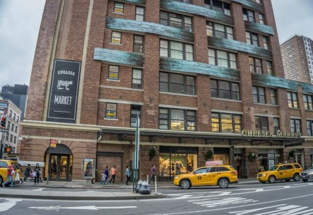 New York Chelsea Market Meatpacking District