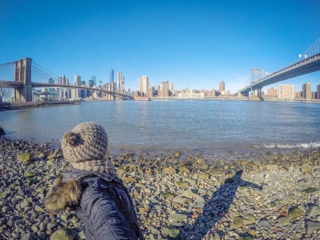 New York Brooklyn Bridge Dumbo