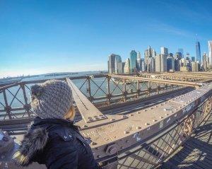 New York Sehenswuerdigkeiten Brooklyn Bridge
