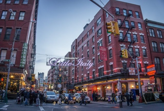 New York Manhattan Little Italy