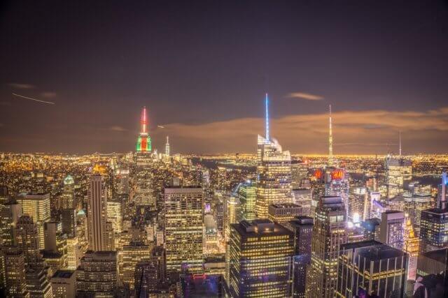 New York Aussicht Top of the Rocks