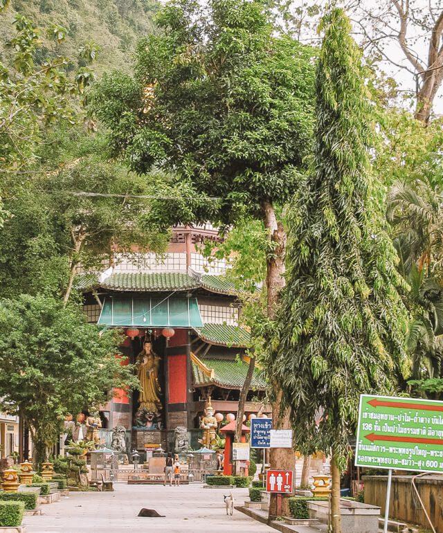 Tiger Cave Tempel Eingang