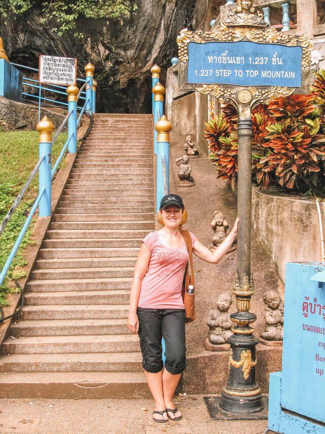 Tiger Cave Tempel Stufen