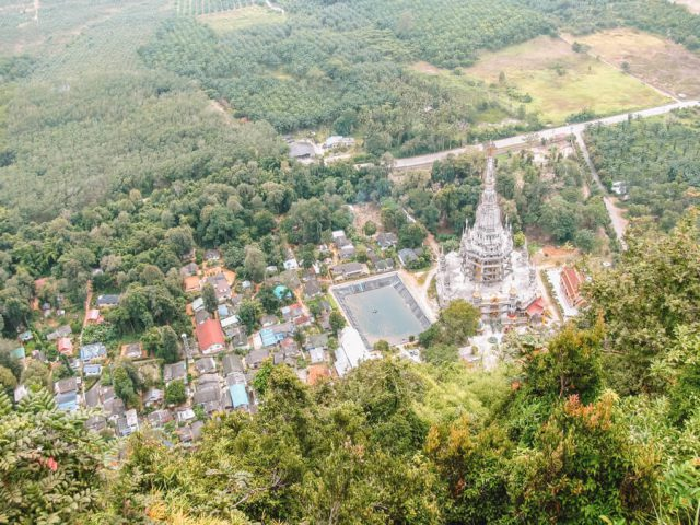 Tiger Cave Temple Aussicht