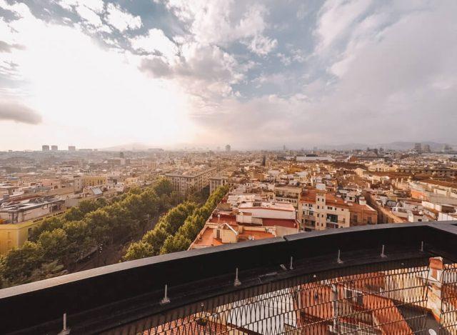 360 Grad Dachterrasse Barcelo Raval