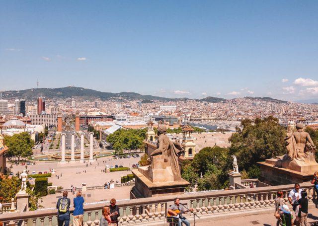 Barcelona Sehenswuerdigkeiten Montjuic