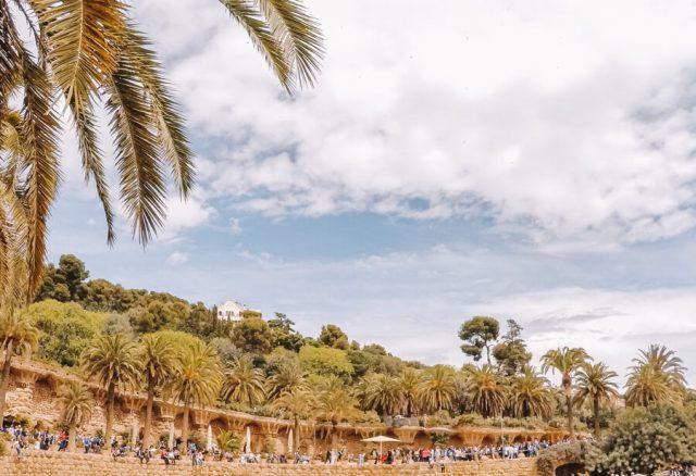 Barcelona Sehenswuerdigkeiten Park Gueell