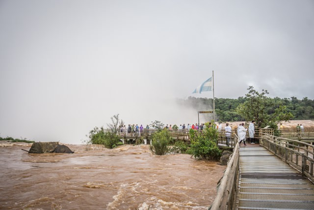 Südamerika Iguazu Wasserfälle Brasilien Argentinien