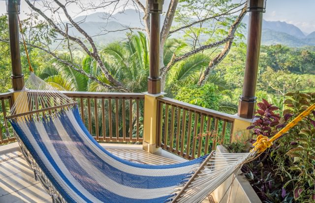 Belize Sleeping Giant Lodge Regenwald