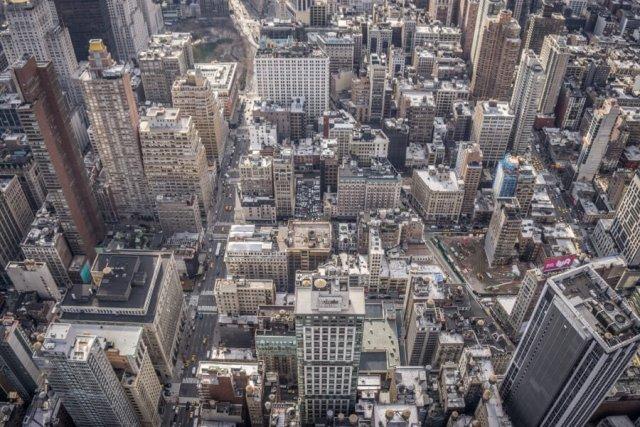 New York Aussicht Empire State Building