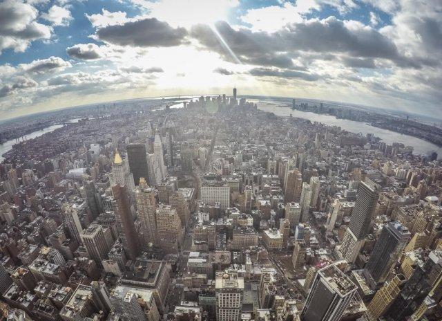 New York Aussicht Empire State Building Reiseziele August Urlaub