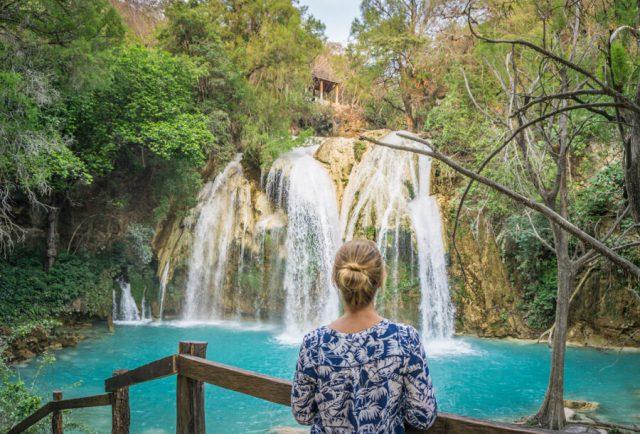 San Cristobal de las Casas Chiflon Wasserfall