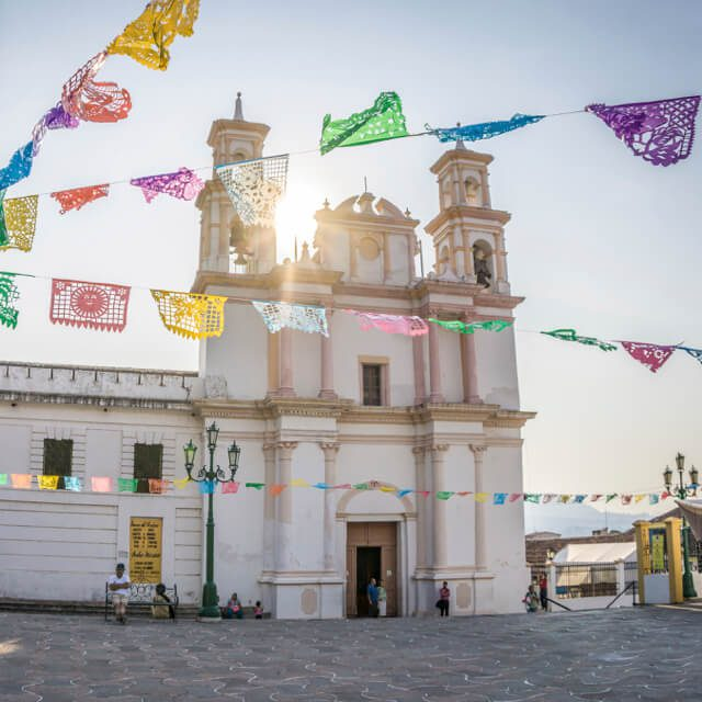 San Cristobal de las Casas Iglesia de la Merced