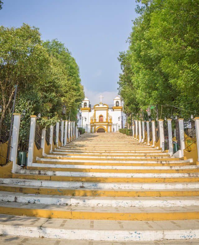 San Cristobal de las Casas Mexiko Iglesia de Guadalupe