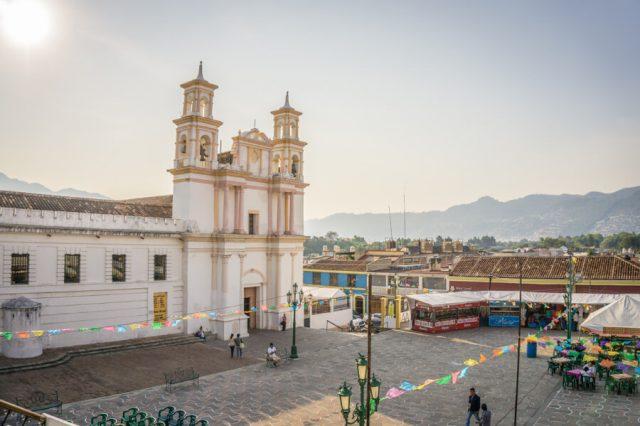 San Cristobal de las Casas Mexiko Iglesia de la Merced