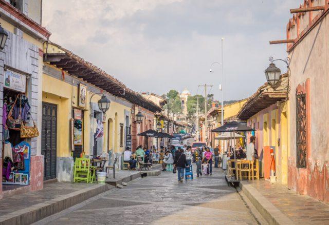 San Cristobal de las Casas Mexiko Real de Guadalupe-2