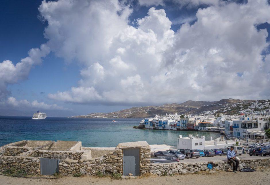 MS Europa 2 Schiff Kreuzfahrt Griechenland