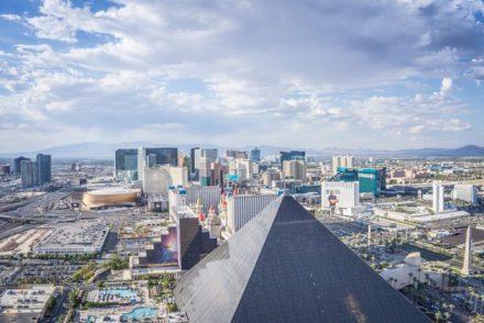 Las Vegas Sehenswürdigkeiten Aussicht Delano Hotel