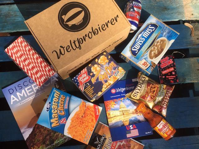 Geschenke für Reisende Box Weltreise