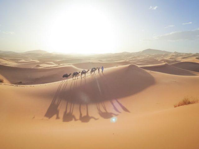 Reiseziele Maerz Urlaub Marokko Sahara