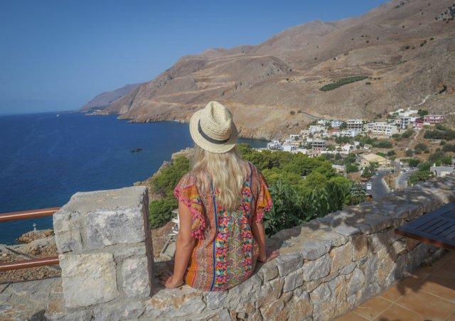 Chania Kreta Sfakia Reiseziele August Urlaub