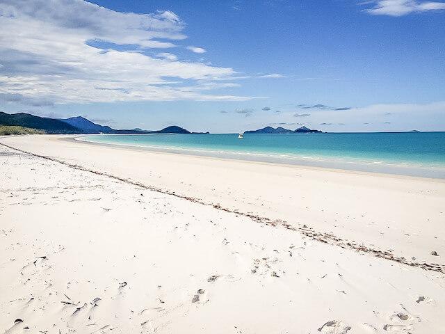 Australien Ostküste Whitehaven Beach